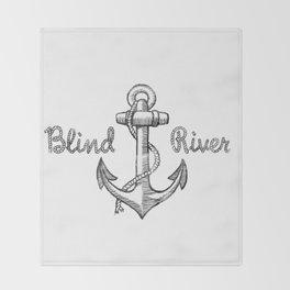 Anchor Throw Blanket