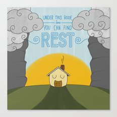 You Can Find Rest Canvas Print