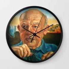 W.V.O. Quine Wall Clock