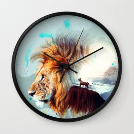 The Majestic Wall Clock