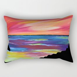 GIANT'S CAUSEWAY SILHOUETTE Rectangular Pillow