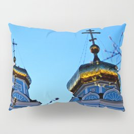 Cupolas, Church of the Ascension, Russia Pillow Sham