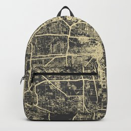 Cincinnati map Backpack
