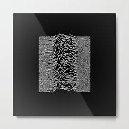 Unknown Pleasures Metal Print