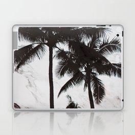 Velvet Palm trees on marble Laptop & iPad Skin
