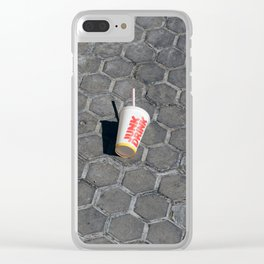 Junk Drink Clear iPhone Case