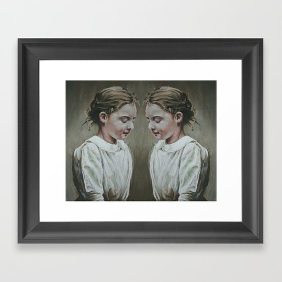 shared memories Framed Art Print