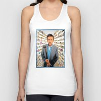 house md Tank Tops featuring House MD - Colored Pencil Sketch Style by ElvisTR