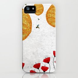 The Dance of the Honeybee iPhone Case