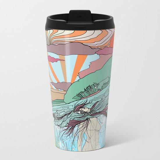 Sink Deeper Metal Travel Mug