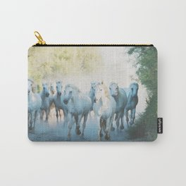 Camargue Horses ... Carry-All Pouch