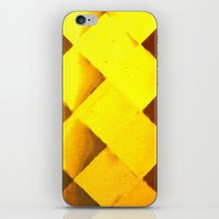 honeycomb iPhone & iPod Skins featuring Honeycomb by JReisPhotoDesign
