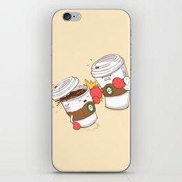 Strong Coffee iPhone Skin
