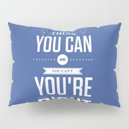 Lab No. 4 - Henry Ford Life Inspirational Typogarphy Quotes Poster Pillow Sham