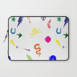 Bully Print Rainbow inverse Laptop Sleeve