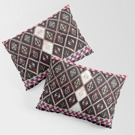 Oriental Heritage Colored Black Berber Moroccan Style Pillow Sham