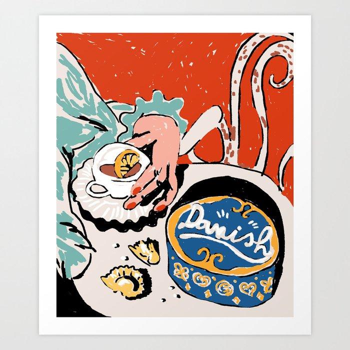 Danish Art Print
