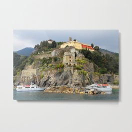All About Italy. Piece 11 - Monterosso Metal Print
