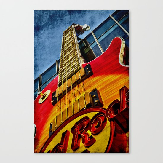 Hard Rock Cafe Vegas Canvas Print