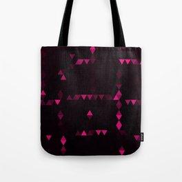 Pink triangulation Tote Bag