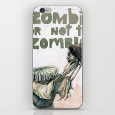 Zombie + Shakespeare iPhone & iPod Skin