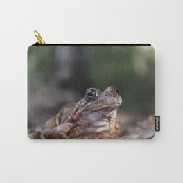Portrait of a frog. Carry-All Pouch