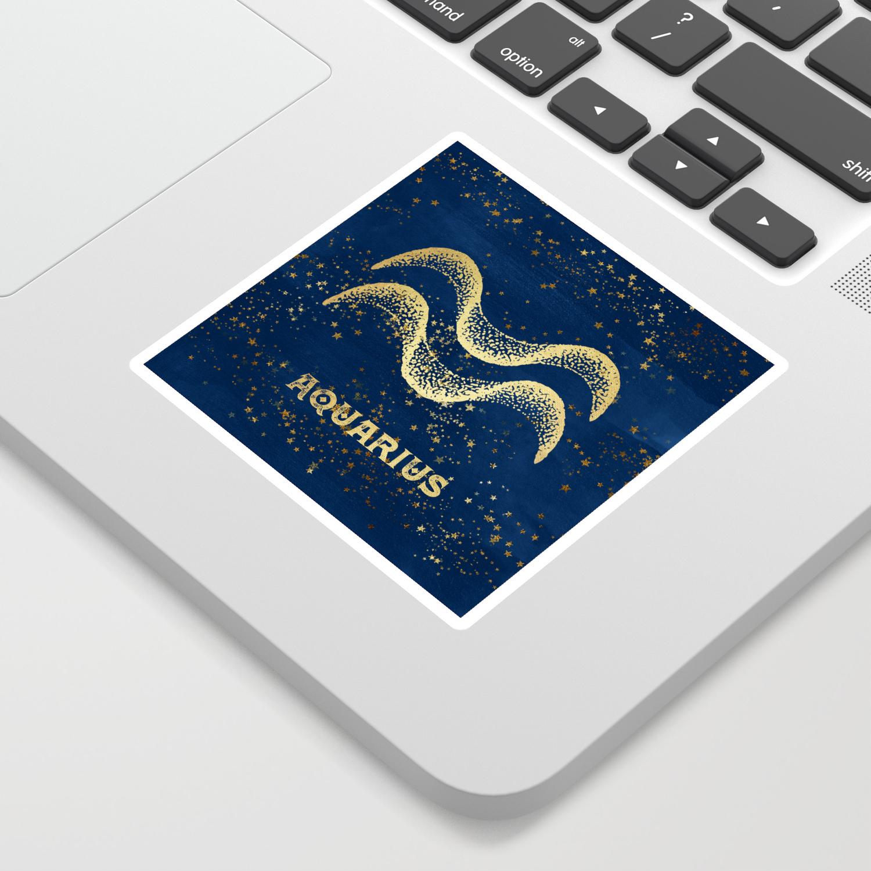 Aquarius Zodiac Sign Sticker by naturemagick