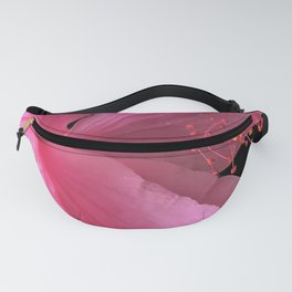 Tropical Pink Hibiscus Exotic Close-Up Fanny Pack