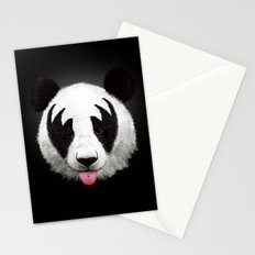 Kiss of a panda Stationery Cards