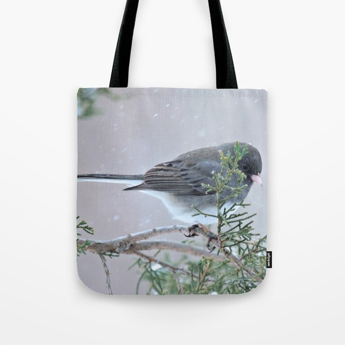 Reverie (Dark-eyed Junco) Tote Bag