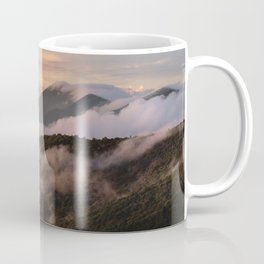 Clearing Storm, Craggy Gardens along Blue Ridge Parkway Coffee Mug
