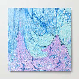 501 - Abstract Design Metal Print