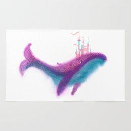 Whale palace Rug