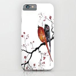 Birds Happy Singing iPhone Case