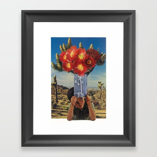 sonic bloom Framed Art Print
