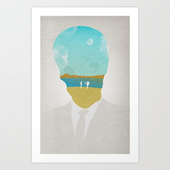 the (Silence) Impossible Astronaut Art Print