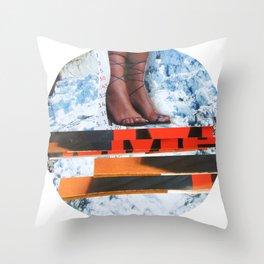 Essence Of Life · Zwischenwelten · Strom · Den Saft aus der Dose · Detail 1 Throw Pillow