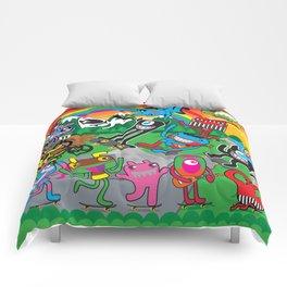 Live, Dream, Skate Comforters