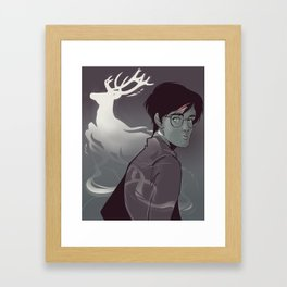 Stag Spirit Framed Art Print