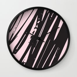 I spilled my chocolate! /geometric series Wall Clock