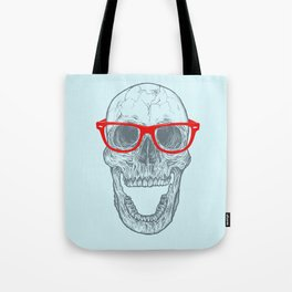 Smart-Happy Skully Tote Bag