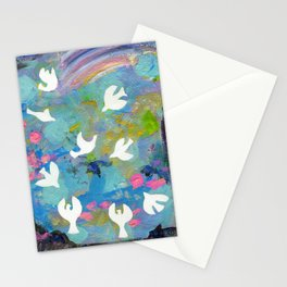 9 Ladies Dancing Stationery Cards