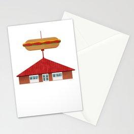 Hot Dog Shoppe, Warren, OH Stationery Cards