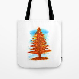 Fall Tree Tote Bag
