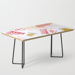 Thank You Take-Out Coffee Table
