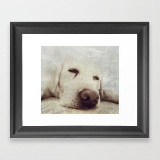 Pooch Framed Art Print