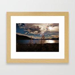 Lake Tekapo (4) Framed Art Print