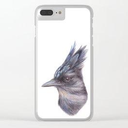 Steller's Jay | Watercolour | Painting | CYANOCITTA STELLERI | Animal Clear iPhone Case