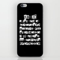 pi iPhone & iPod Skins featuring Bad Pi by mailboxdisco