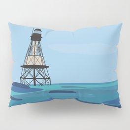 Fowey Rocks Lighthouse Pillow Sham